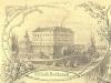 Zámek Zákupy v roce 1853