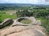 Pohled na Mimoň z Juliiny vyhlídky