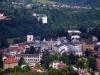 Pohled na město Turnov a Hrubý Rohozec